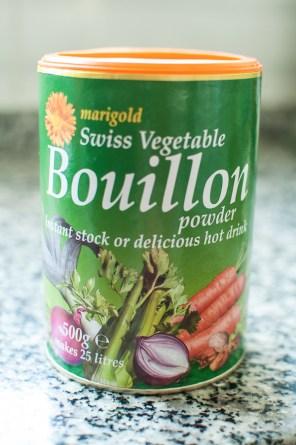 Swiss vegetable bouillon in my kitchen - mycustardpie.com
