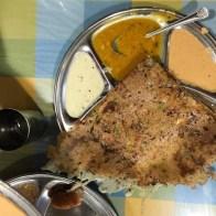 Dosas in Abu Dhabi at Aroma restaurant