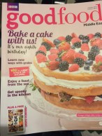 BBC Good Food Middle East Editors panel - My Custard Pie