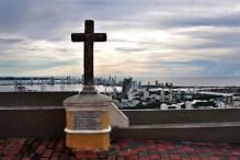 """View of Boca Grande sector from the height of """" El Convento de la Popa"""""""