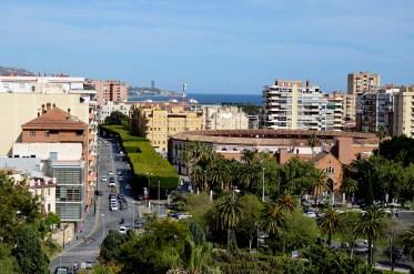 Näkymä Alcazabasta