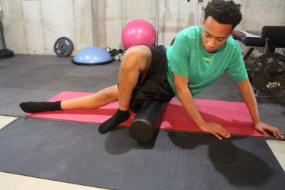 foam roller exercise for IT Band
