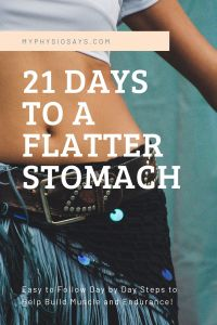 21 Days to a flatter stomach