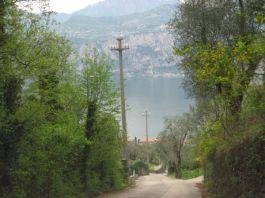 Blick auf Gardasee