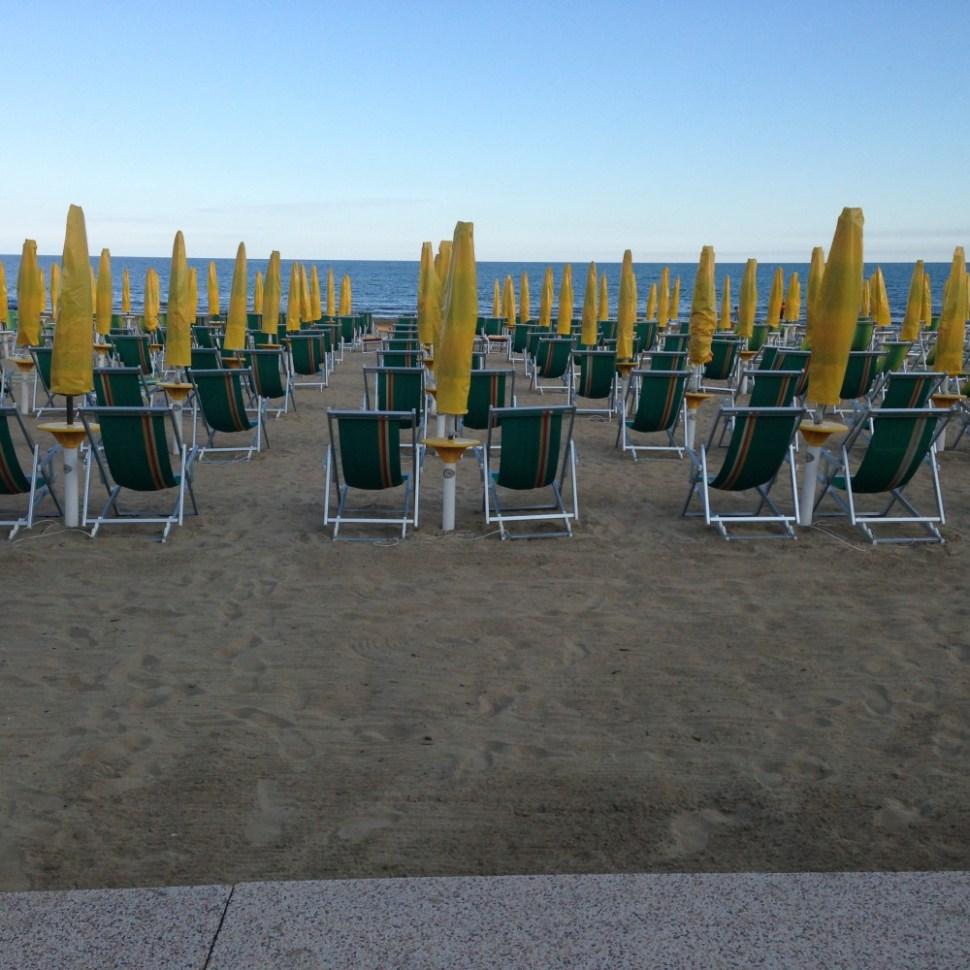 Strand in Jesolo