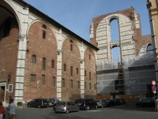 unfertiger Domteil Siena