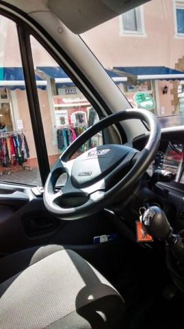 Iveco Daily Fahrercockpit
