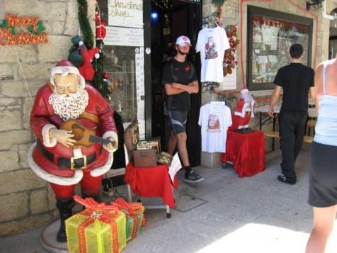 Weihnachtsladen in San Marino