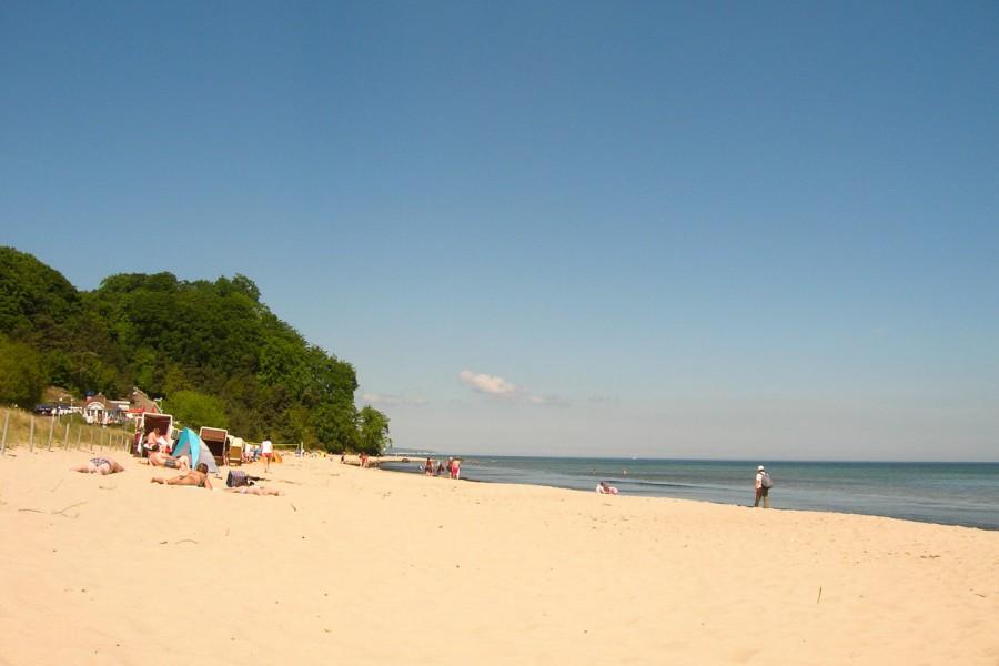 Strand Rügen Sellin