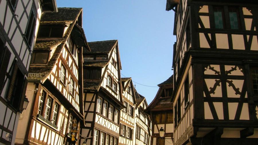 Straßburg Fachwerkhaus