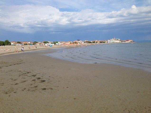 Strand in Grado