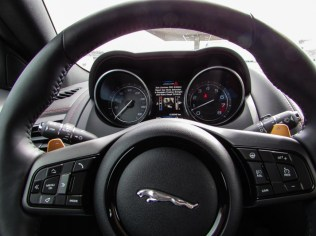 Jaguar F-Type R Cockpit