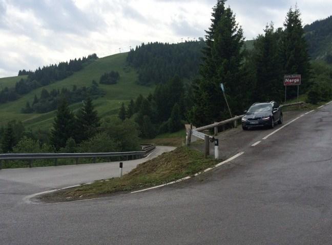 Alpenpass Skoda Octavia