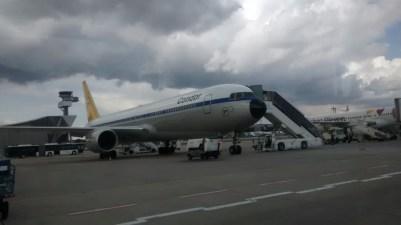 Retro Look Condor Flugzeug