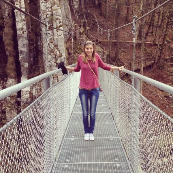 Hängebrücke am Schmugglerweg