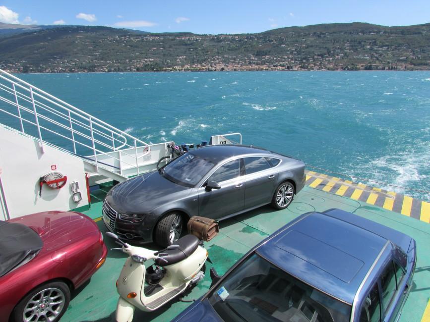 Autofaehre Gardasee