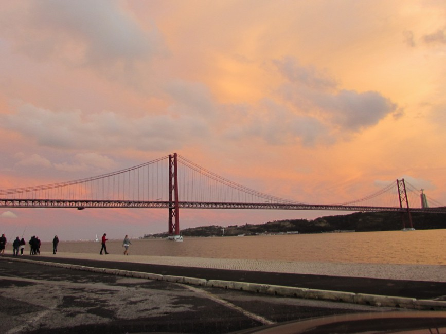 Bridge 25 de Abril Lisbon