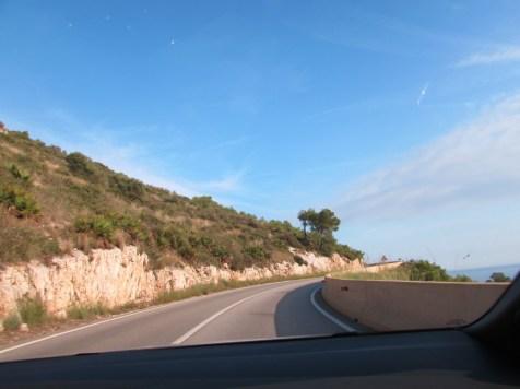 Küstenstraße Barcelona Sitges