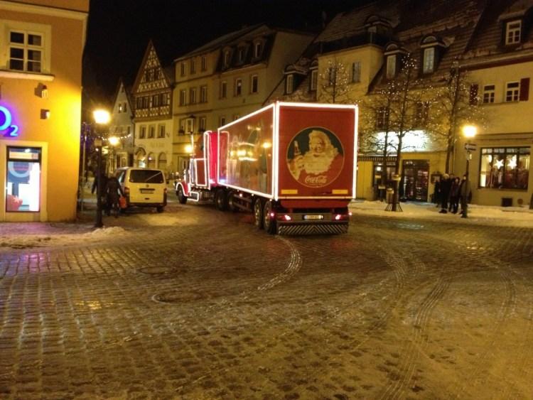 Coca Cola Weihnachtstruck live