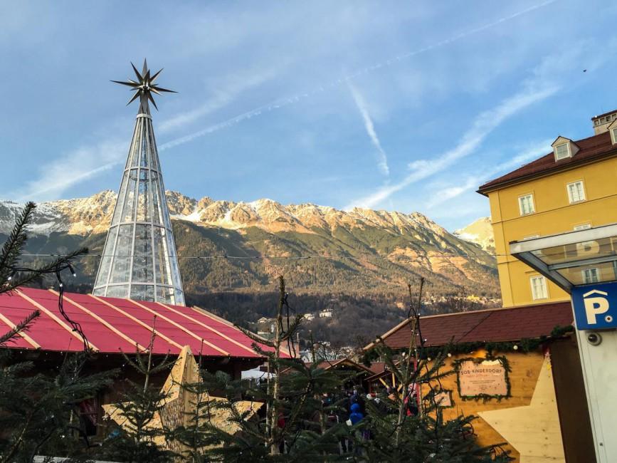 Innsbruck Swarovski Weihnachtsbaum (1 von 1)