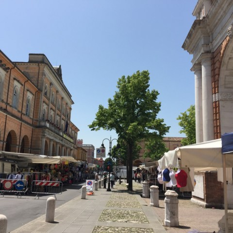 Markt in Santarcangelo di Romagna