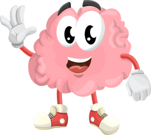 brain piano clipart