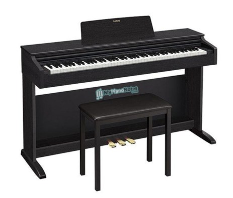 digital piano by casio