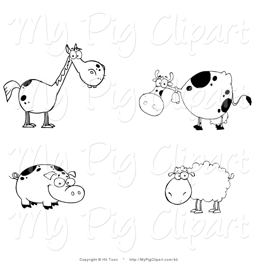 Royalty Free Stock Pig Designs Of Horses
