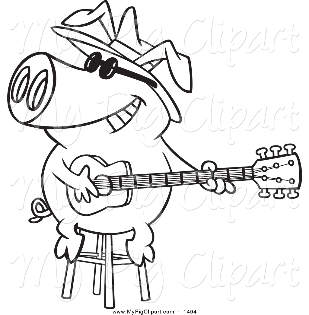 Royalty Free Stock Pig Designs Of Printable Coloring Pages