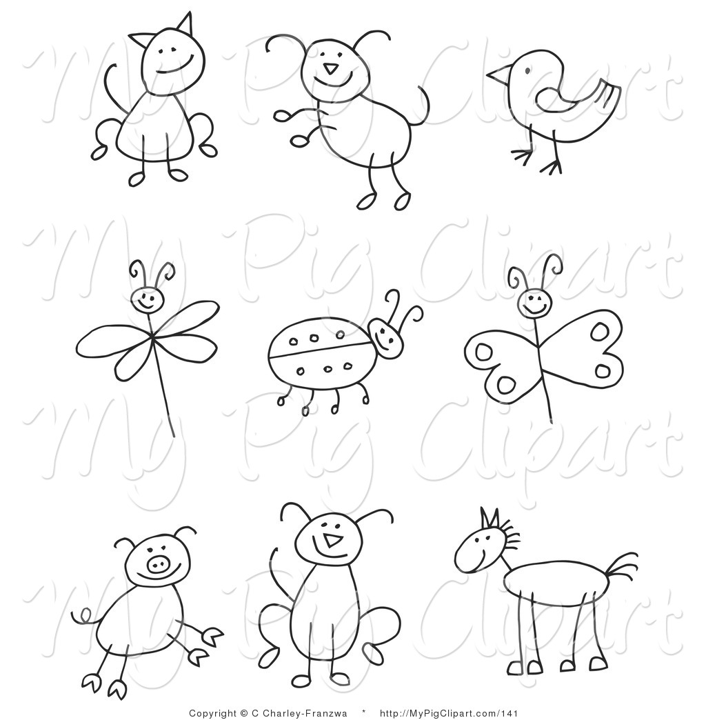 Royalty Free Stock Pig Designs Of Dogs