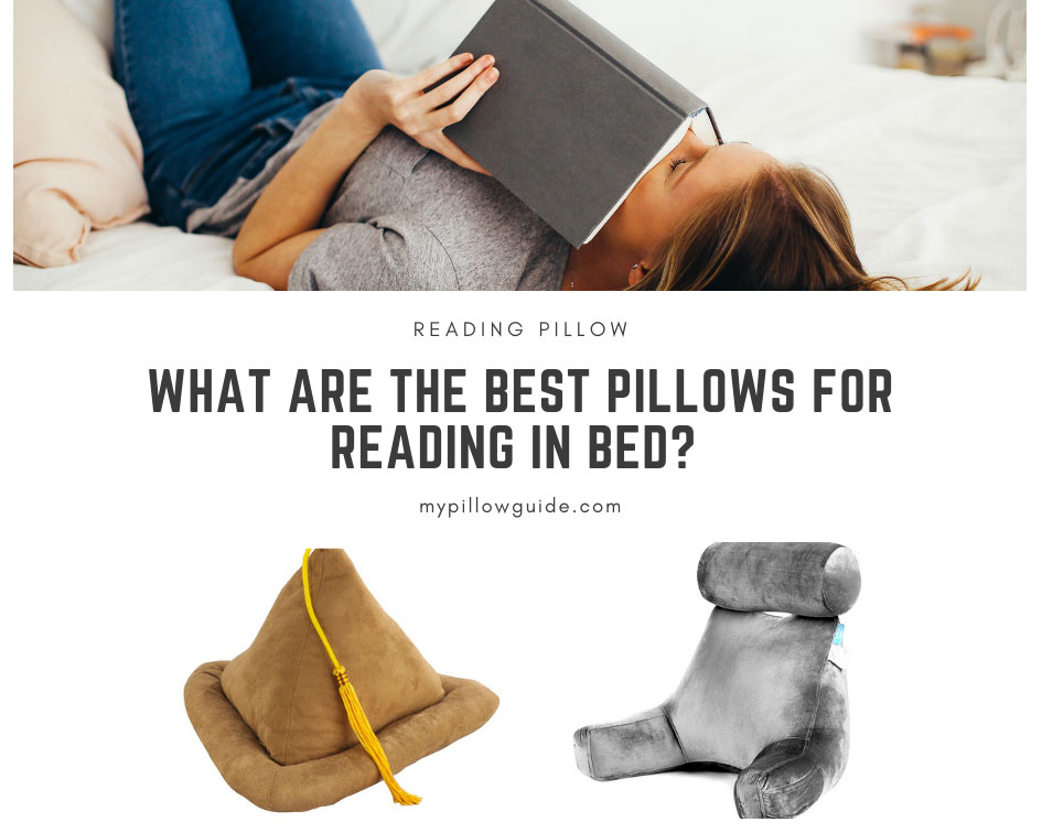 best pillows for reading in bed my