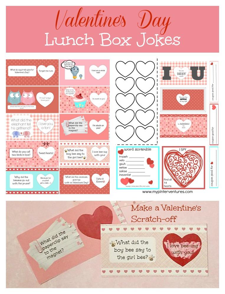 Scratch Off Valentine S Day Lunch Box Jokes Printable