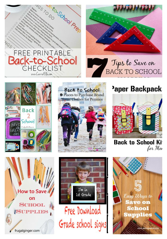 Back to school features