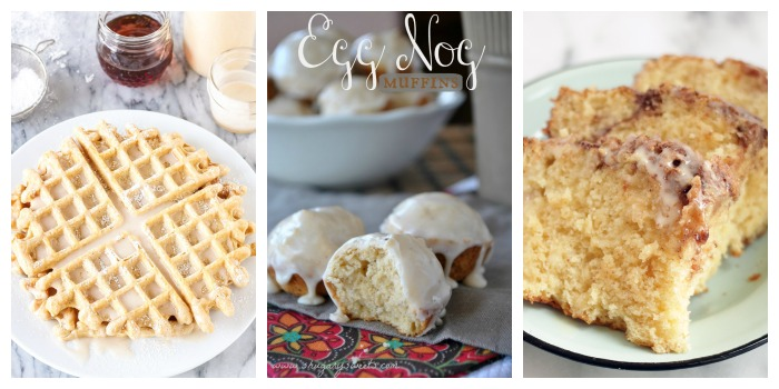 12 Days of Christmas - Flavors of Christmas Breakfast Recipes Egg Nog