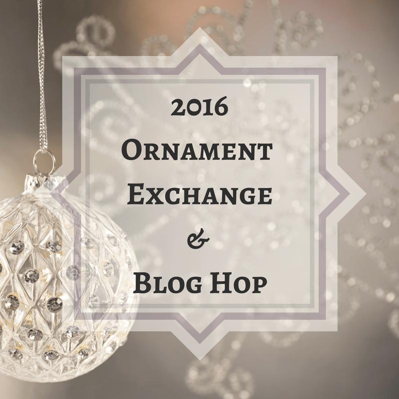 ornament exchange u0026 blog hop
