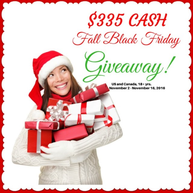 $335 Fall Black Friday Giveaway