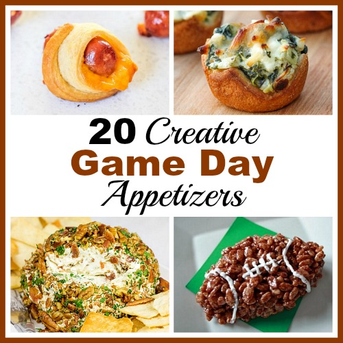 20 Creative Game Day Appetizers