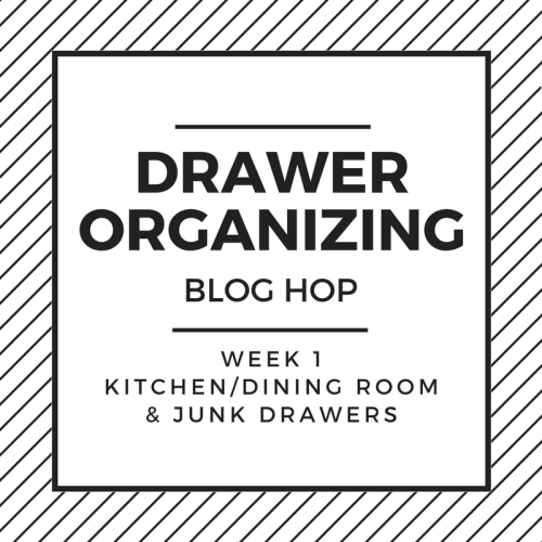 Drawer Organization Blog Hop - Week 1 Kitchen & Junk Drawer