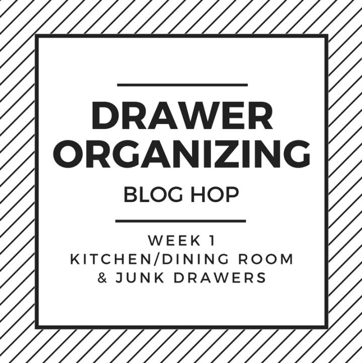 Drawer Organization Blog Hop - Week 1 Kitchen & Junk Drawer