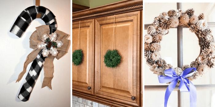 Best DIY Holiday Ideas - Wreaths 2