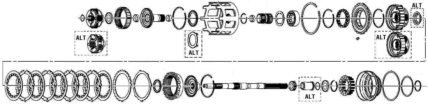97 Chevy 4l60e Transmission Diagram