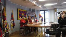 """Latvia: Youth of """"Latvia for Tibet"""", 9th October, 2012"""