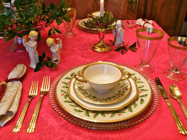 Seasonal simplicity a lenox holiday tablescape