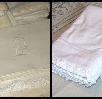 STORAGE STAIN REMOVAL: How to Care for Vintage Linens & Lace