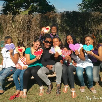 Greetings from the girls at Hope Unlimited in Brazil …