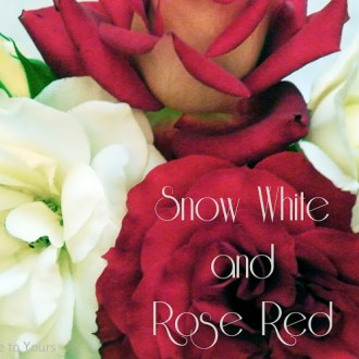 A Fairy Tale Tablescape: Snow White & Rose Red