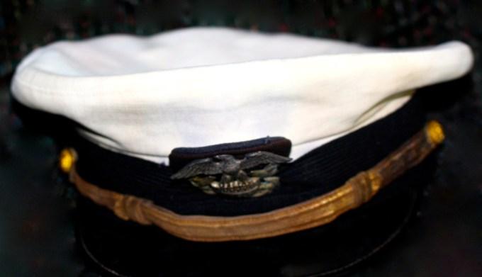 Clean vintage Navy hat