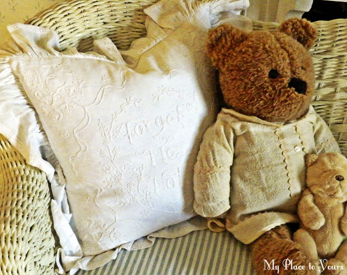 Forget me not bear