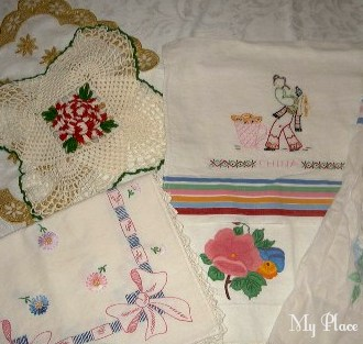 There are vintage linens I DON'T like… *Gasp!*