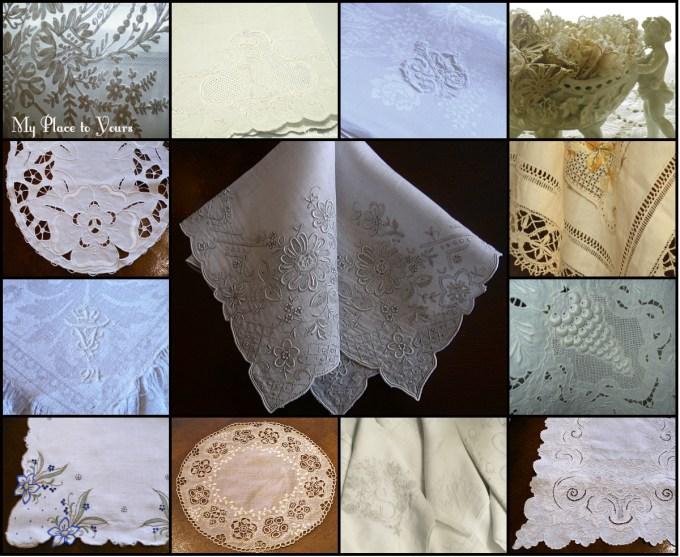 vintage linen favs